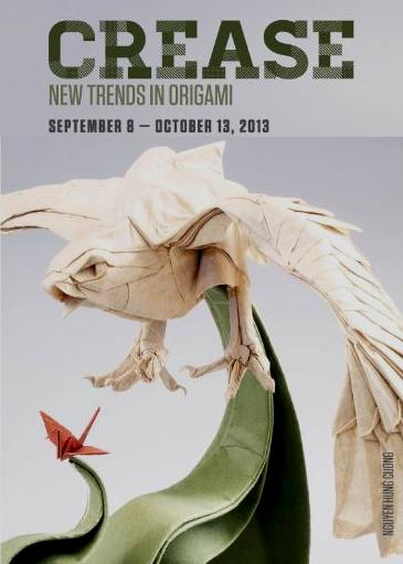 CREASE- NEW TRENDS IN ORIGAMI